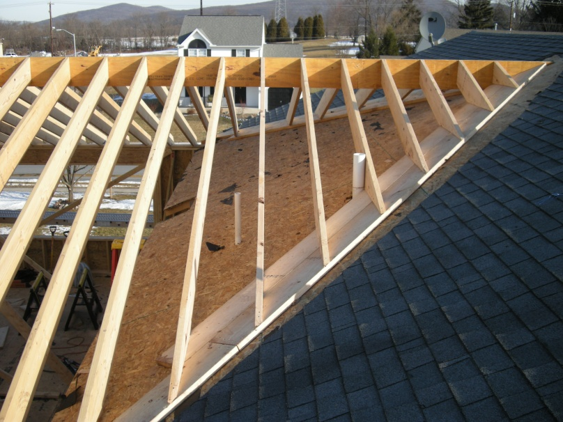 Tying Addition Roof To Existing Roof Ventilation