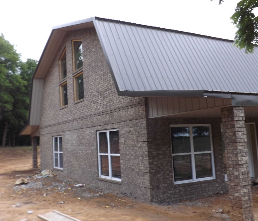 ICF Home Steel Roof System A Different Way To Build