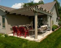 Building Detached Pergola On Concrete, Need Advice