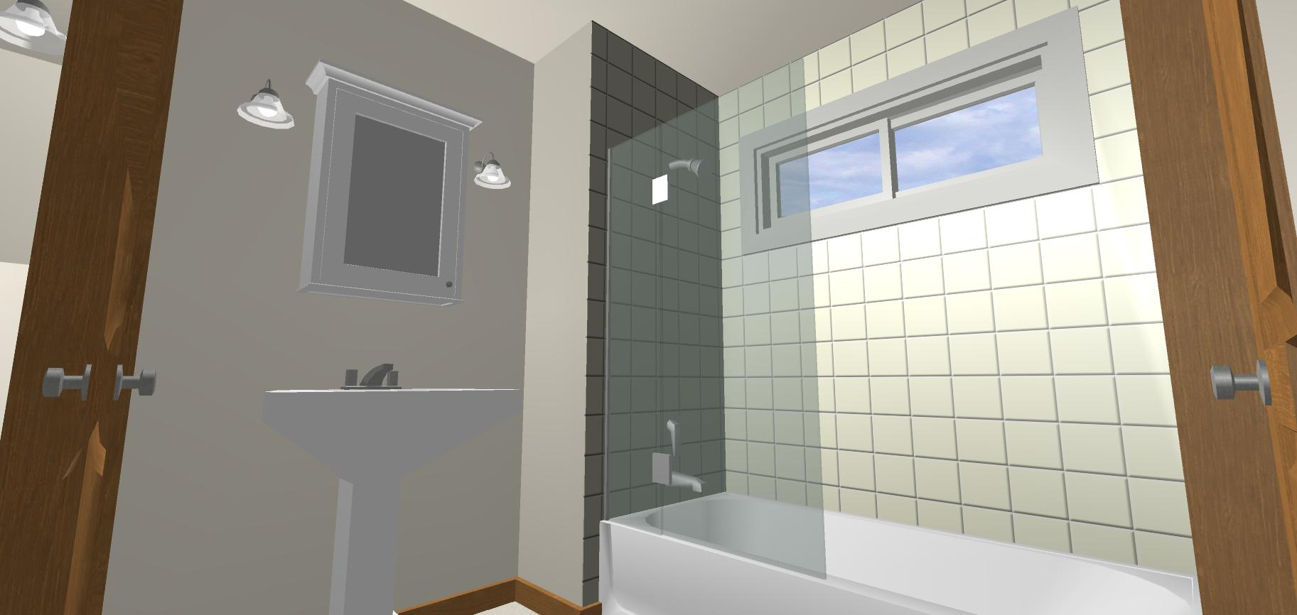Window For Tubshower Wall Recommend Product  Windows Siding and Doors  Contractor Talk