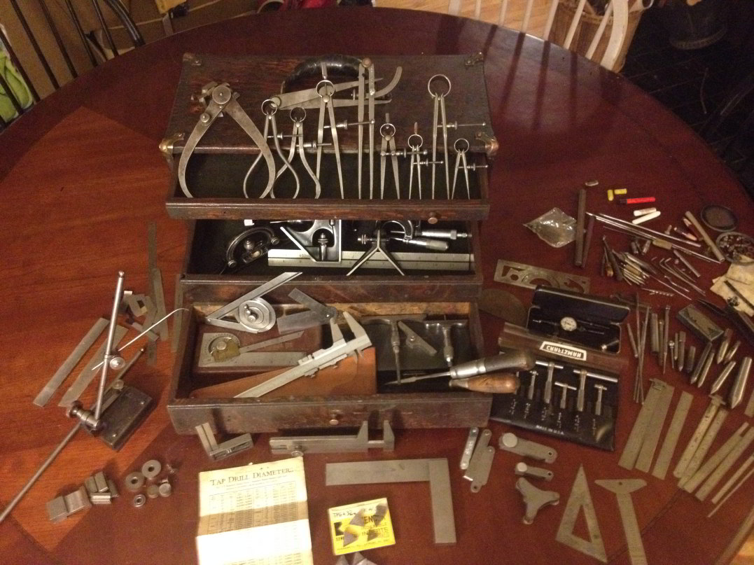 Vintage Machinist Tools For Sale