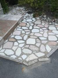 Repairing Loosen Patio Flagstones - Polymeric Sand VS ...