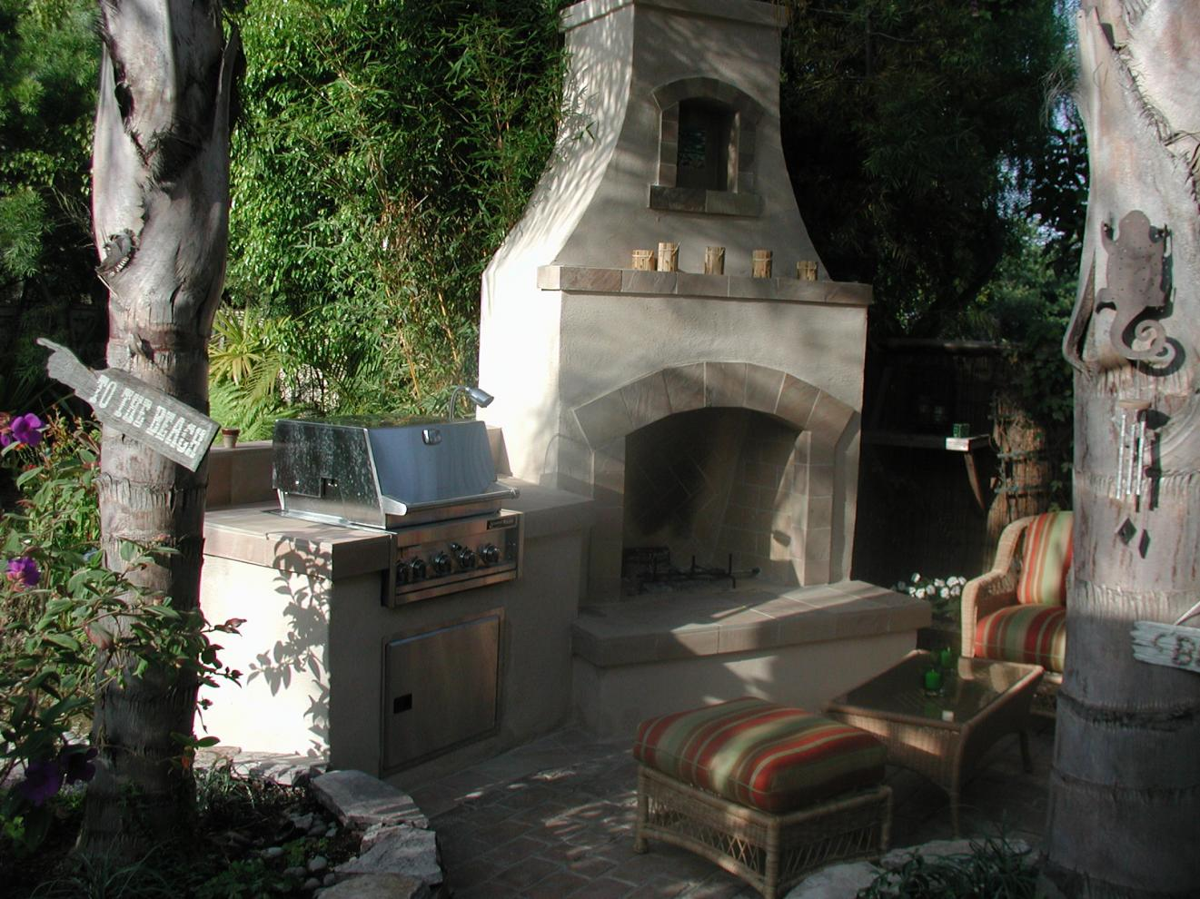 Outdoor Fireplace  Grill  Masonry  Contractor Talk