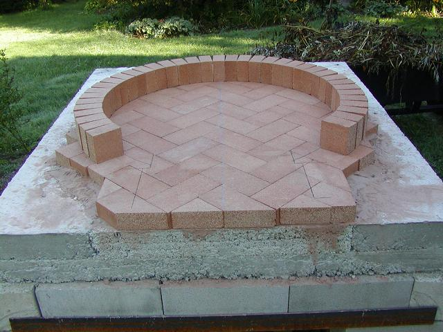how to build a brick pizza oven plans