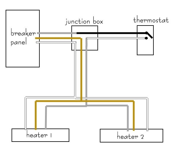 baseboard heater wiring diagram, Wiring diagram