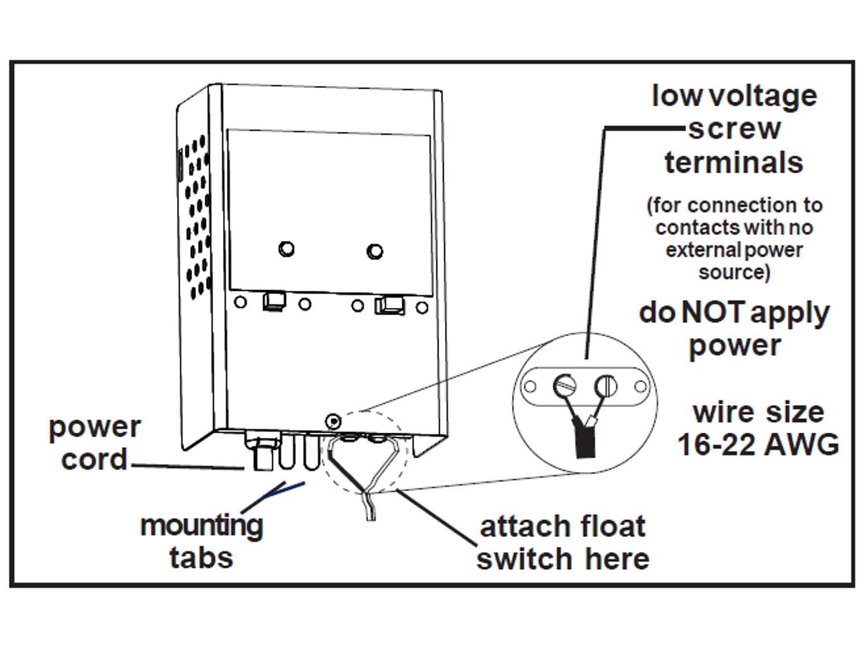 tank float switch wiring diagram