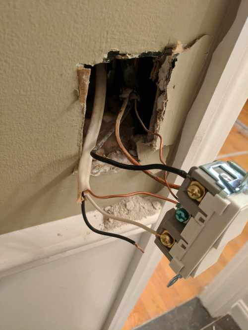 small resolution of bath fan light dual switch electrical contractor talk wiring bathroom fan to dual switch