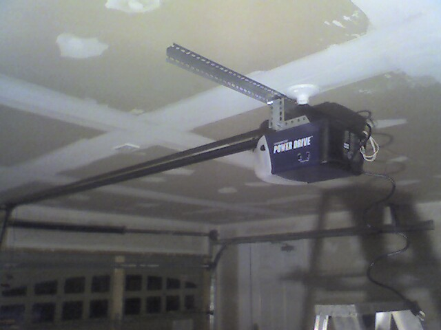 Garage Door Opener Outet Goes Where  Electrical