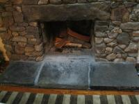 Cleaning Stone Hearth Fireplace