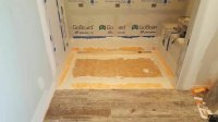 Curbless Shower With Linear Drain - Page 2 - Tiling ...