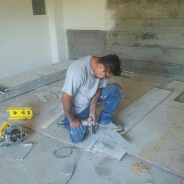drilling holes in porcelain tile