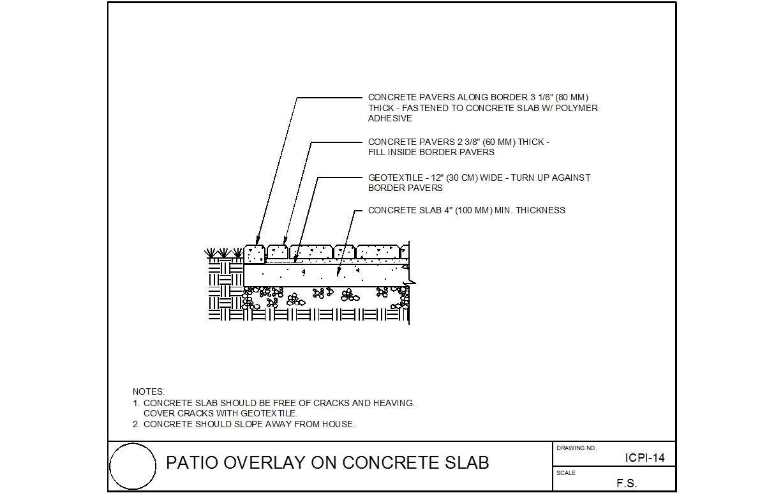 ep henry patio bricks over concrete