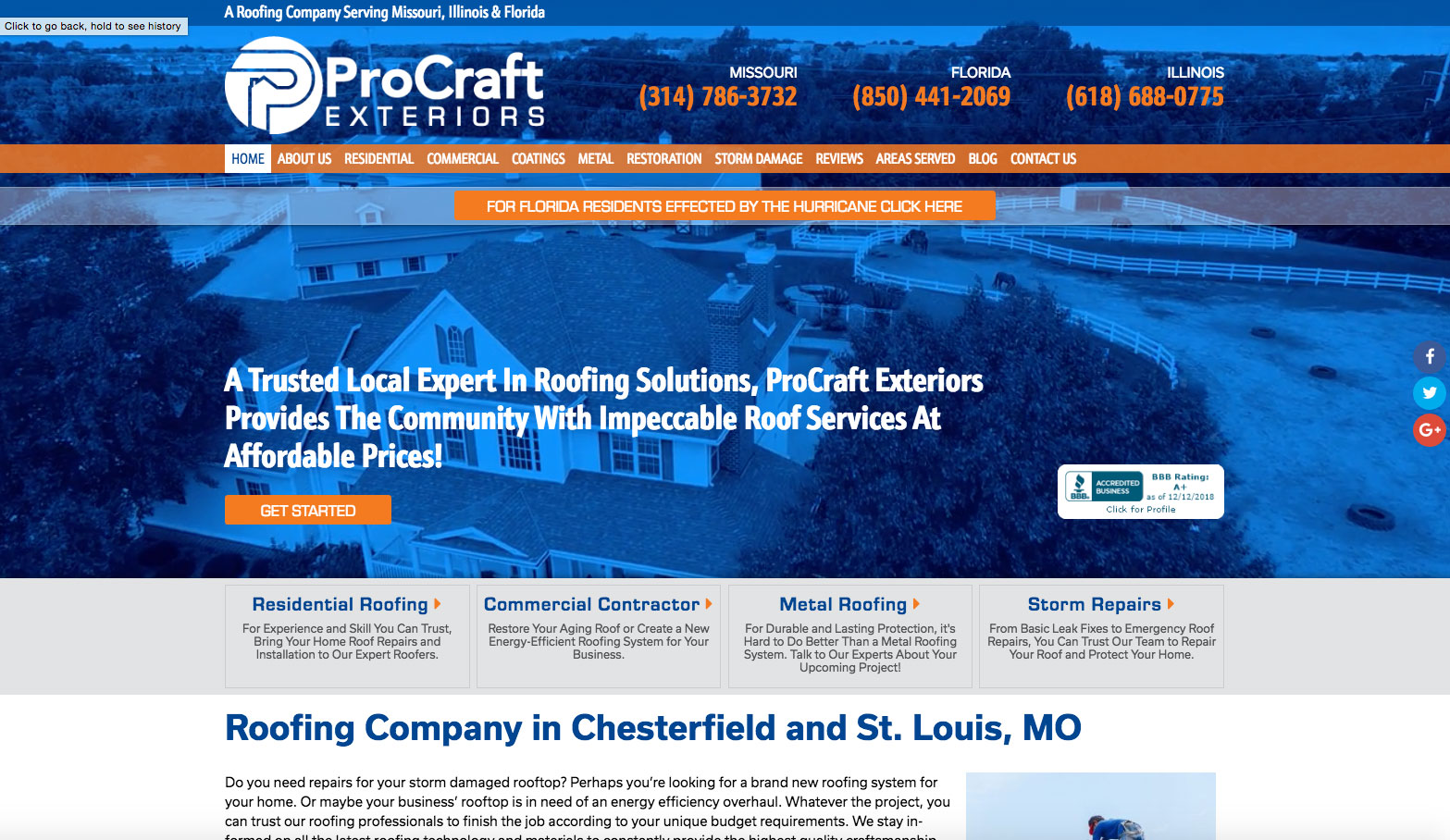 web design portfolio contractor