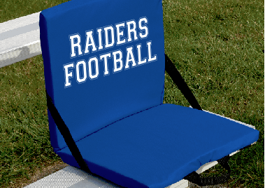 stadium chairs for bleachers with arms swivel desk chair personalized seats contract screen printing custom