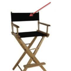 Directors Chair Replacement Covers And 1 2 Slipcover Director Custom Embroidered