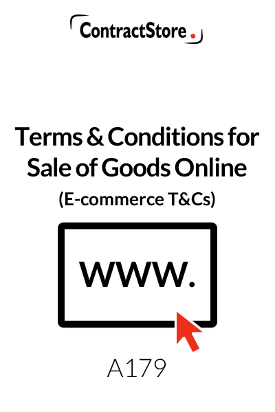 Ecommerce Terms and Conditions Template (Shopping Website