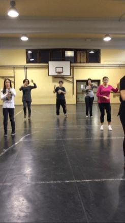 Prove coreografia Contrada La Lanterna - Carnevale Pietrasantino 2017