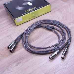 Ansuz Acoustics Signalz Diamond highend audio interconnects XLR 1,0 metre 1