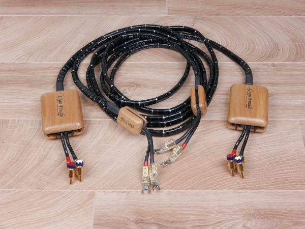 HMS Elektronik Gran Finale MK2 audio speaker cables 2,5 metre 1