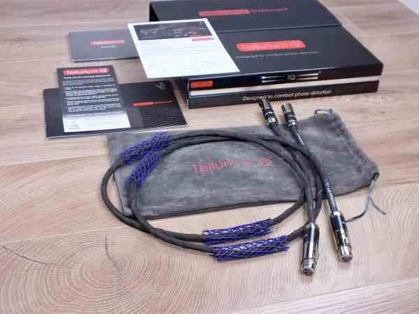 Tellurium Q Statement highend audio interconnects XLR 1,0 metre 1