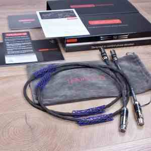 Tellurium Q Statement highend audio interconnects XLR 1,0 metre 1