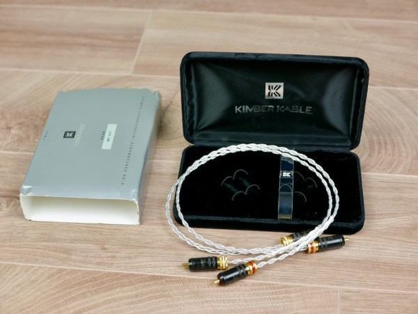 Kimber Kable KCAG silver audio interconnects RCA 0,5 metre 1