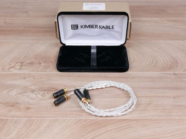 Kimber Kable KCAG silver audio interconnects RCA 1,0 metre 1