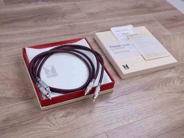 Kondo Theme LS-41 silver highend audio interconnects RCA 1,0 metre 1