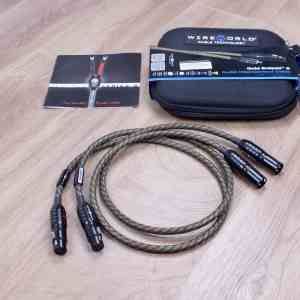 Wireworld Gold Eclipse 8 highend audio interconnects XLR 1,0 metre 1