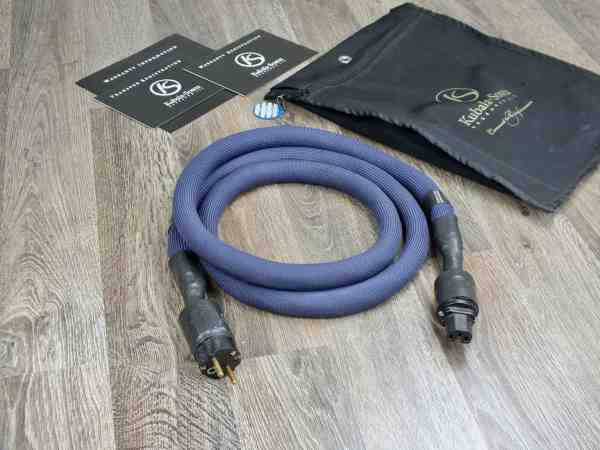 Kubala Sosna Emotion highend audio power cable 2,0 metre 1