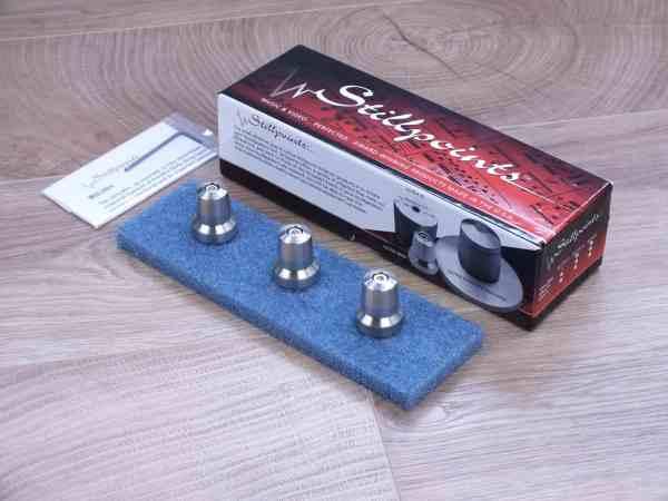 Stillpoints Ultra Mini audio tuning feet set of 3 1