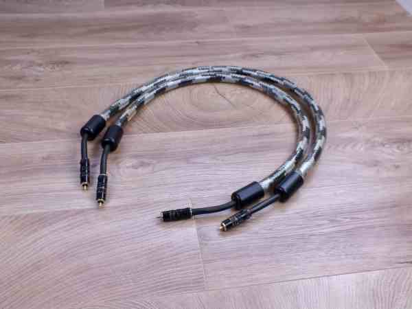 Straight Wire Crescendo audio interconnects RCA 1,0 metre 1
