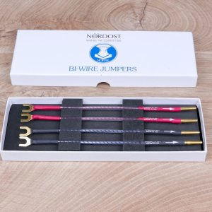 Nordost Norse audio biwire speaker cable jumpers NEW 21
