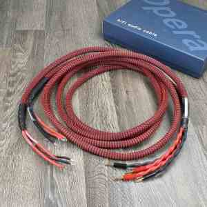 Opera Consonance Joplin Red Edition audio speaker cables biwired 3,0 metre 1