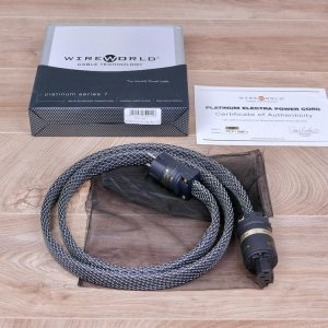 Wireworld Platinum Electra 7 highend audio power cable 1,5 metre 1