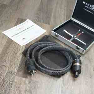 Wireworld Platinum Electra highend audio power cable 1,5 metre NEW 1