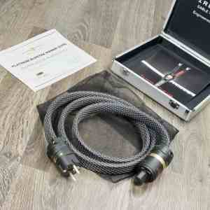 Wireworld Platinum Electra highend audio power cable 1,5 metre NEW 31