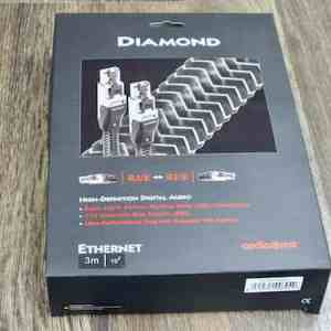 AudioQuest Diamond highend audio RJ:E ethernet cable 3,0 metre 4