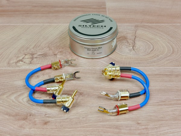 Siltech Classic G5 Mk2 audio speaker cable jumpers 15cm 1