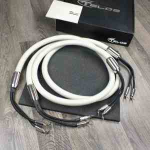 Telos Audio Design Platinum Signature highend audio speaker cables 3,0 metre 1