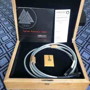 Nordost Odin Supreme Reference highend audio interconnects XLR 1,5 metre 1