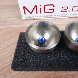 Synergistic Research MiG 20 Mechanical Interface Grounding audio isolation feet set of 3 3