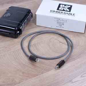 Kimber Kable Select KS-2436AG highend audio USB cable 1,0 metre 1
