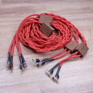 Sonore Ruby highend audio speaker cables 3,0 metre 1