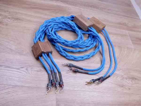 Sonore blue highend audio speaker cables 3,0 metre 1