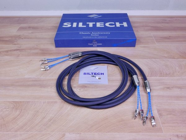 Siltech 550L G7 Classic Anniversary audio speaker cables 3,0 metre 1