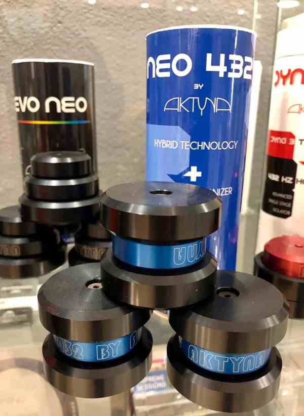 Aktyna NEO 432 audio isolation devices (tuning feet) set of 3