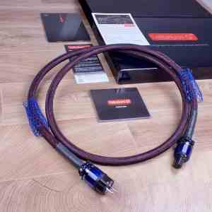 Tellurium Q Statement highend audio power cable 2,0 metre 1