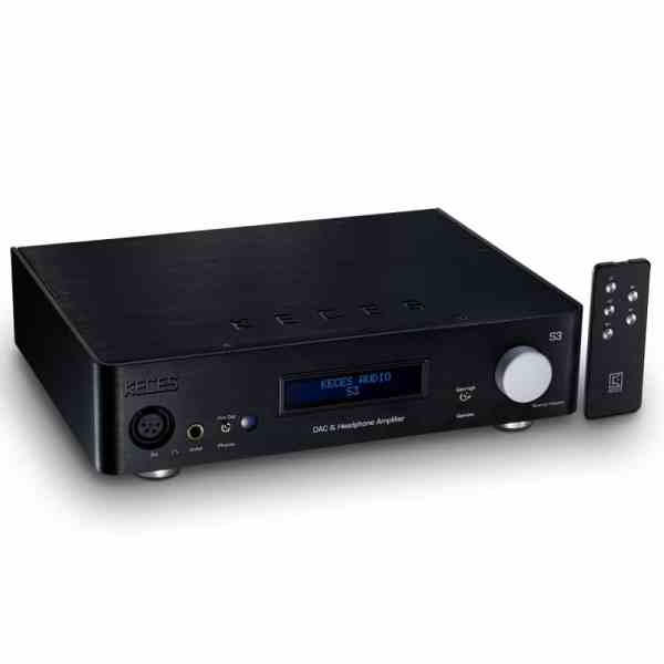 Keces Audio S3 DAC headphone amplifier and preamplifier NEW 1