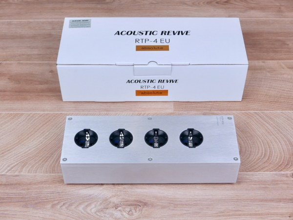 Acoustic Revive RTP-4EU Absolute highend audio AC power strip 1 NEW 1